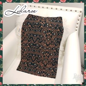 Lularoe cassie xs pencil stretch skirt hunter